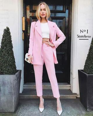 Trend alarmı: Pastel takım elbise