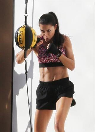 Adriana Lima boks yaparsa