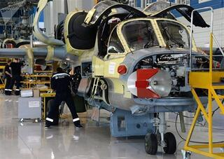Ka-52 helikopterleri nasıl üretiliyor