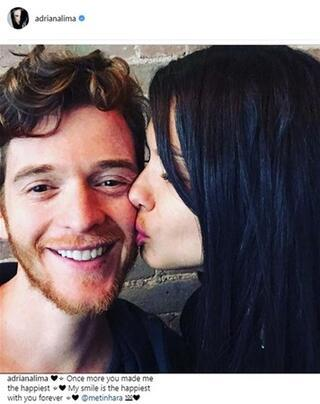Metin Haradan Adriana Limaya evlilik teklifi