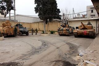 İşte Afrin sokakları...