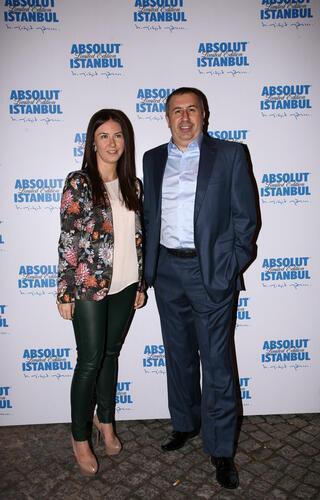 Absolut İstanbul Lansman