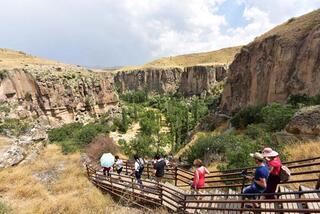 Ihlara Vadisi turistlerin ilgi odağı