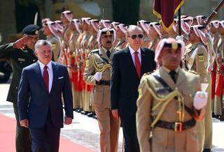 Cumhurbaşkanı Erdoğanın görevdeki üçüncü yılı
