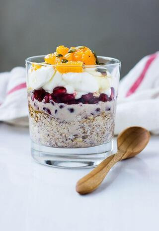 Kahvaltılık yulaf ezmesi tarifleri