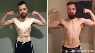 Fitness sonrası inanılmaz vücut dönüşümleri