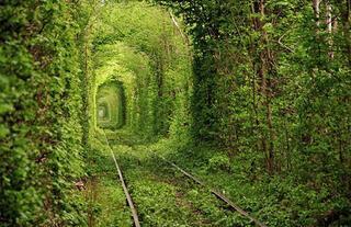 Ukrayna'nın aşk tüneli