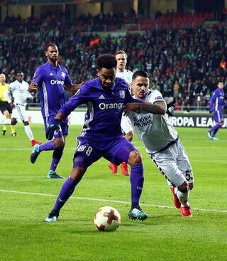 Atiker Konyaspor - Marsilya maçından kareler