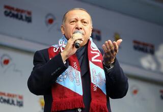 Cumhurbaşkanı Erdoğan: Paraları Kandile gönderenlere müsaade etmeyiz