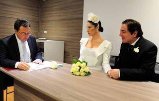 Fazıl Say ve Ece Dağıstan, Milanoda evlendi