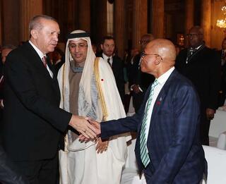 Cumhurbaşkanı Erdoğan: Fıratın doğusunu huzura kavuşturmakta kararlıyız