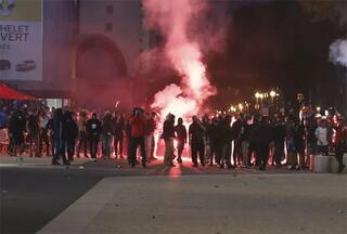 Avrupa Ligi maçı öncesi Marsilyada kavga çıktı