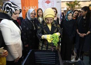 Emine Erdoğan, Atıkmatiki kullandı