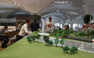 İstanbul Havalimanı'nda 5 yıldızlı otelleri aratmayan yolcu salonu