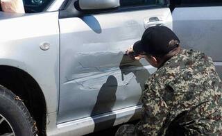 Kaza görmüş araçlara bulunan enteresan çözümler