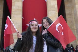 Atatürkün huzurunda