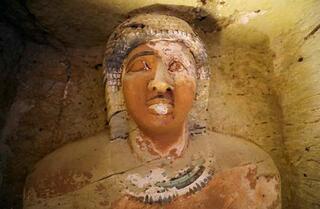 4400 yıllık Mısır lahiti lanet uyarısına rağmen açıldı