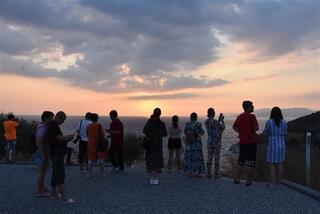 Kuşadasında gün batımı
