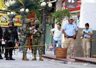 Sahil kentinde bara silahlı saldırı