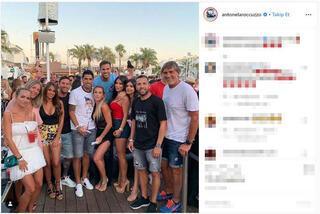 Ibizada bir araya geldiler 4 yıldız...