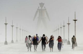Çölde bir vaha Burning Man