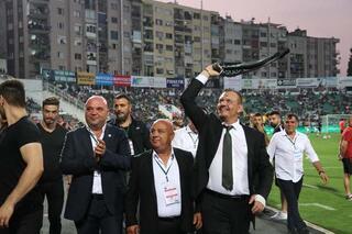 Başkanın son hali şok etti Maç öncesi...