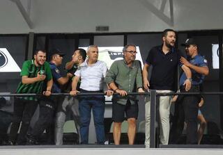 Maçın ardından olay çıktı Hasan Şaş...