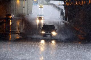 İstanbulda şiddetli yağış