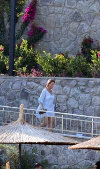 Norveç prensesi ocakbaşına geçti