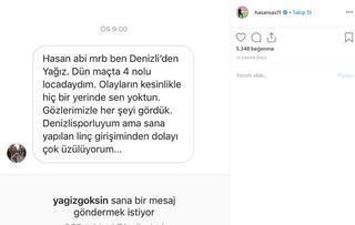 Galatasarayda Hasan Şaş istifa etti