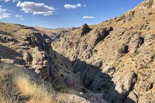 Elazığdaki kanyonları fotoğrafçılar çok sevdi