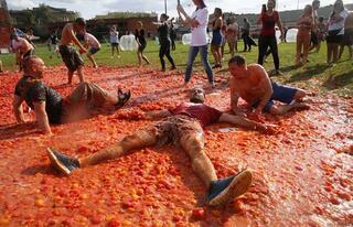 St. Petersburgda domates savaşları