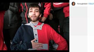 Erkek kılığında maç izledi, tutuklandı