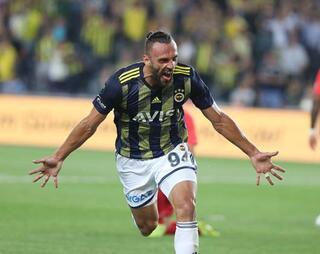 Fenerbahçe-Gazişehir Gaziantep maçından kareler