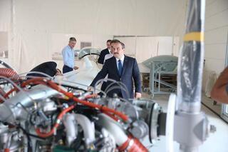 Bakan Varanktan uçak fabrikası müjdesi