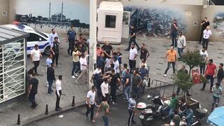 Taksimi karıştıran kavga