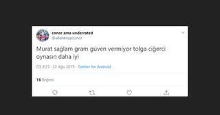 Fenerbahçede Murat Sağlama büyük destek