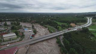 Samsunu sel vurdu 1 kişi hayatını kaybetti