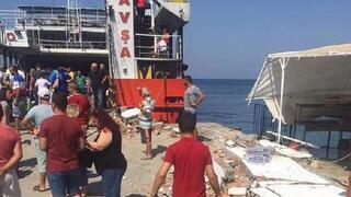 Avşa Adasında feribot faciası