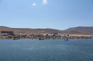 Türkiyenin en yüksek rakımlı Balık Gölünde bir ilk