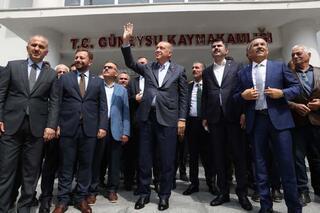 Cumhurbaşkanı Erdoğan Güneysuda