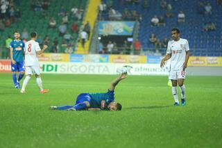 Çaykur Rizespor, El Kabiri tesiste unuttu Maçta ayağı kırıldı...