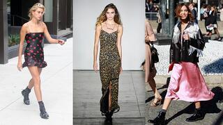 Sonbaharın favorisi: Elbise & bot kombinleri
