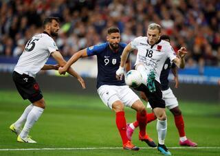 Fransa - Arnavutluk maçında marş skandalı