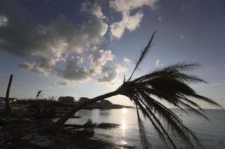 Tatil cennetinde kasırga yıkımı