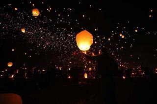 Dilek Balonu Festivalinden renkli görüntüler