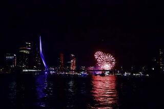Rotterdam Limanı rengarenk