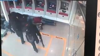 Brezilya'da 'film gibi' banka soygunu