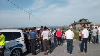 İstanbulda okul servis aracı takla attı