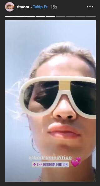 Rita Ora Bodrumda